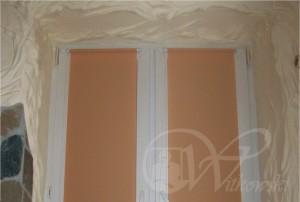 rolety bezinwazyjne, kolor tkaniny A0816