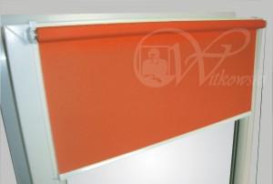 rolety bezinwazyjne mini, kolor tkaniny AE08